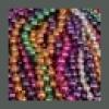 Mardi Gras Beads Metallic Assorted